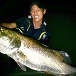 「日本三大怪魚」と言われる「アカメ」「ビワコオオナマズ」「イトウ」を釣った今、次のターゲットはショアからのオオニベ。