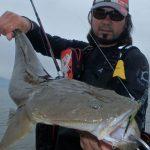 83L+で最もやってみたかった釣りは河口域干潟でのマゴチ釣り。