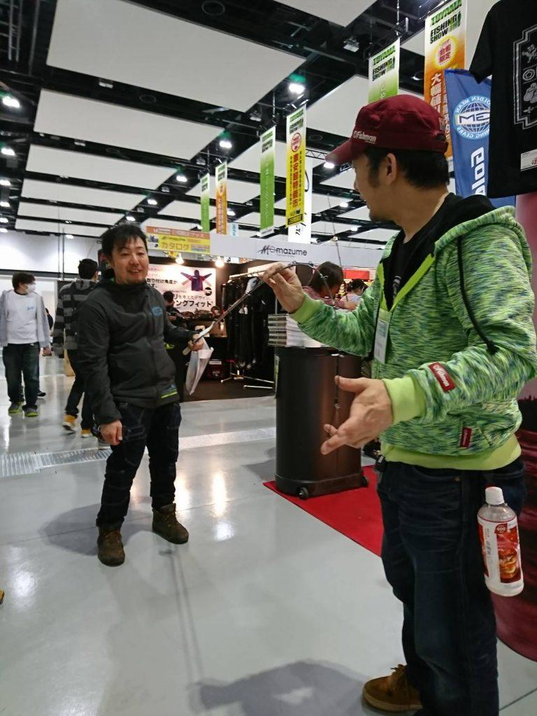 先週末は富山で初の開催となるとやまフィッシングショーに参加しておりました!