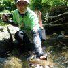 盛夏のシャワクラ渓流トラウトは正に癒しの釣りなのです