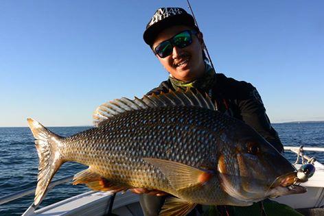 レア魚種のタマンの釣果報告です