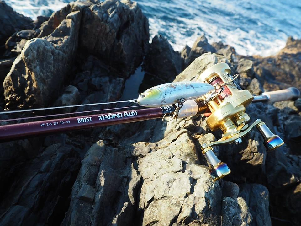 僕が今季始めた釣りは磯での青物釣りで、ベイトロッドでは初挑戦の釣りです。