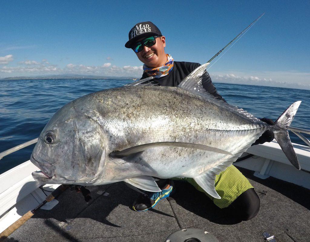 トビウオパターンがハマり10kg前後のGTがボコボコ釣れるという奇跡の日