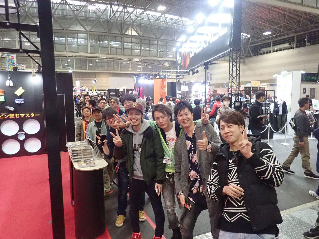 名古屋キープキャストのFishmanブースに立って、全国のアングラー様達に夢と希望を提案させてもらいました!