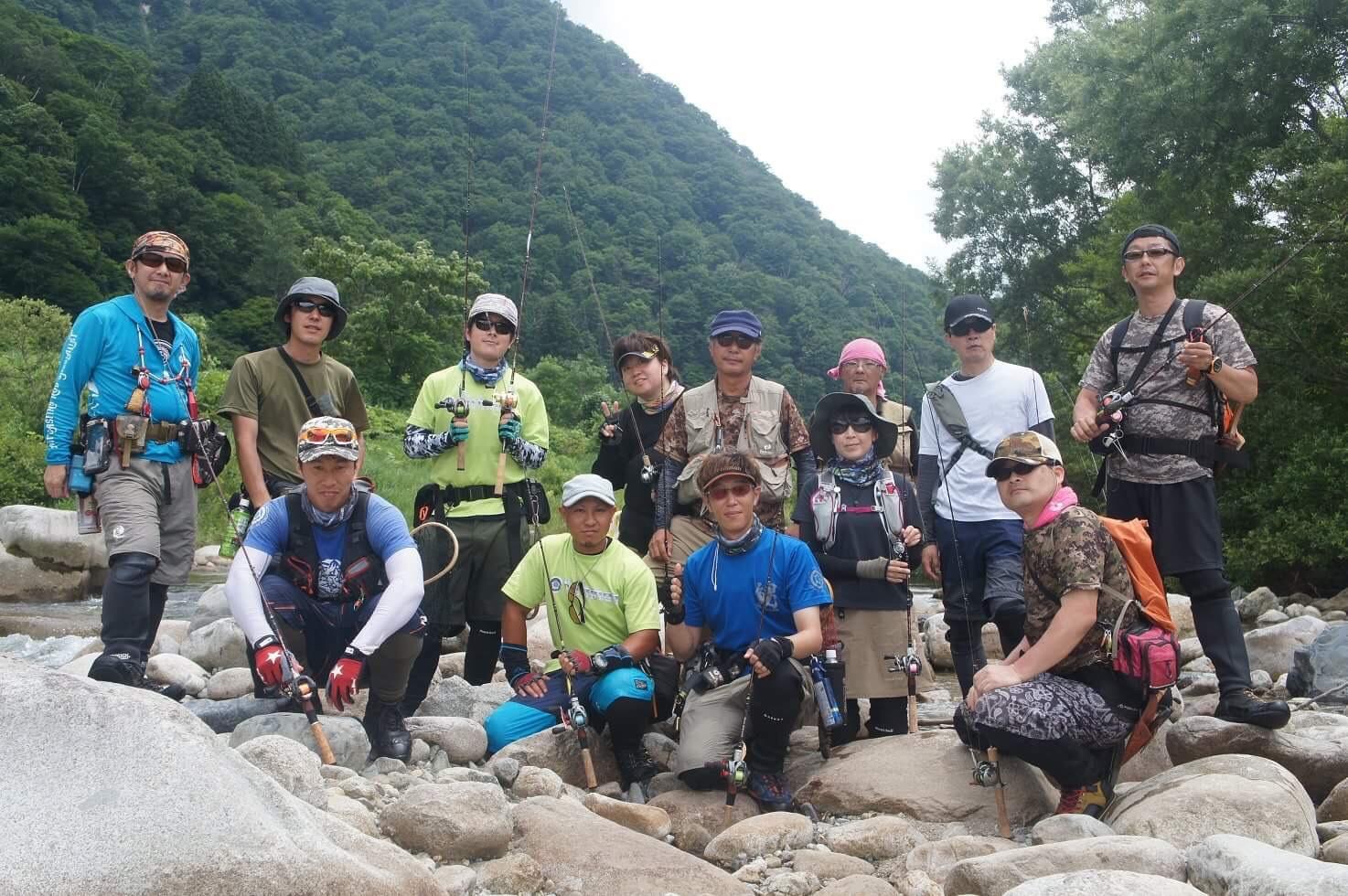 昨日行われたFishman実釣試投会in魚野川ご参加頂いた皆様どうもありがとうございました!