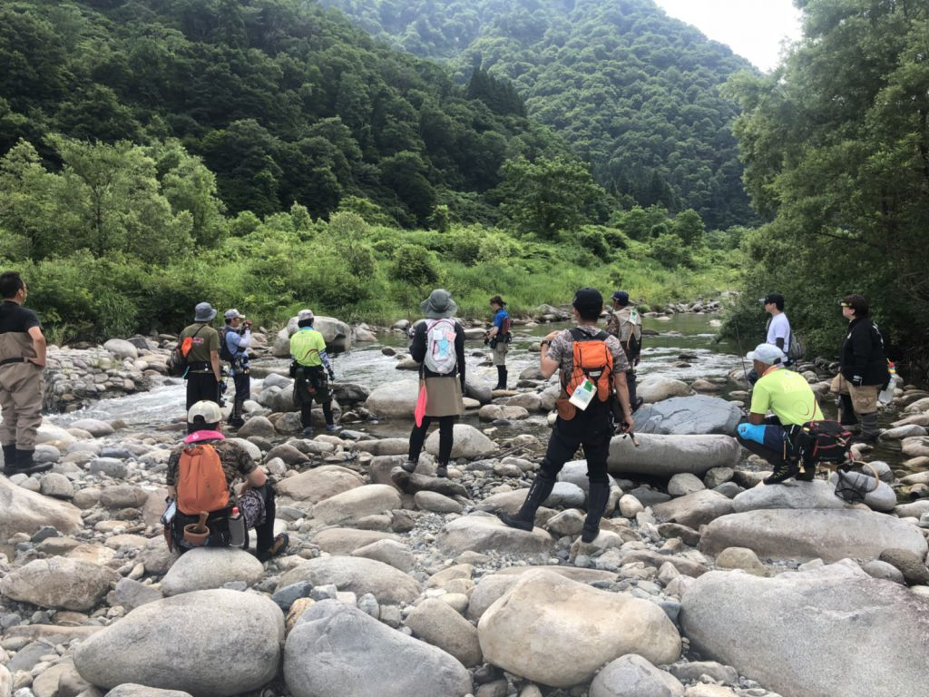 Fishman実釣試投会in魚野川