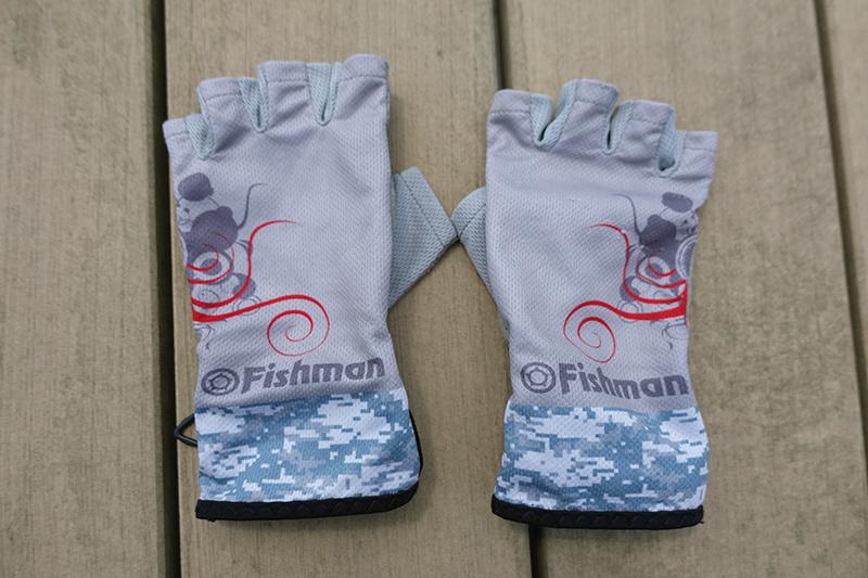 Fishman 5フィンガーレスグローブ(グレー)