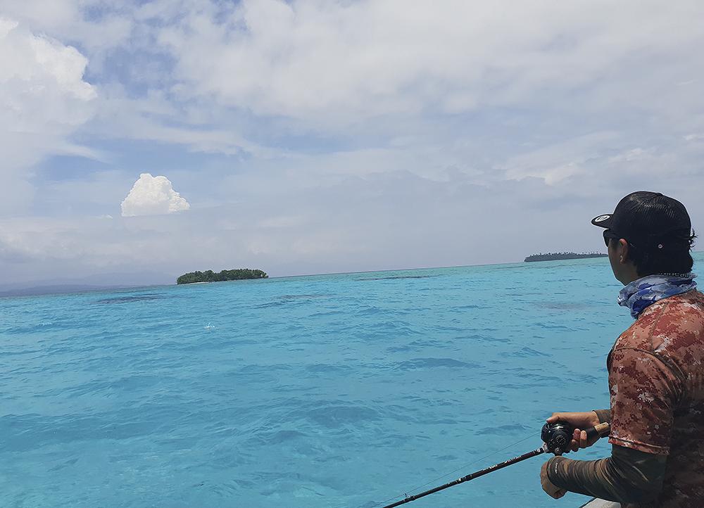 ソロモン諸島の海