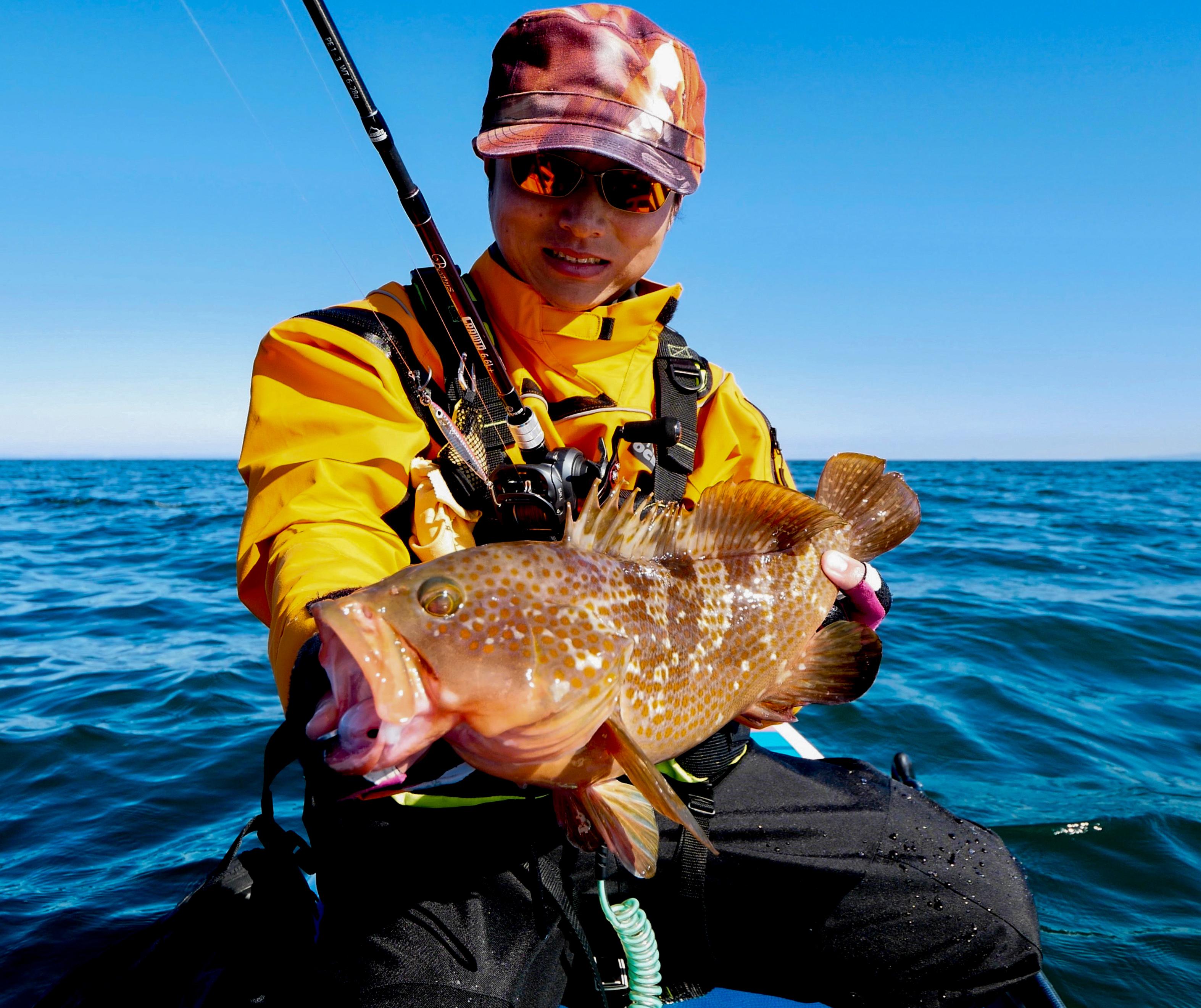 新規ポイント開拓でCRAWLAは万能!『どんな釣りでも出来る』バーサタイル性と『快感すら覚える飛距離』を叩きだすキャスタビリティ、そして『どんな魚を掛けても戦える』強さはかなりのアドバンテージとなる!