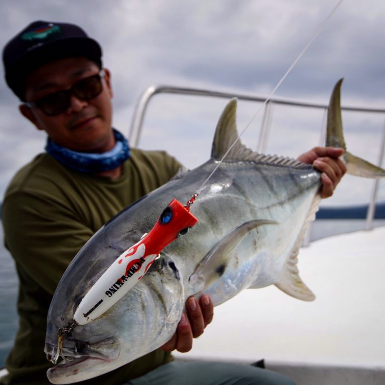 FishmanWorldTester北沢瑛介が来年発売予定のBC4-8.3XXXHとBC4-8.0M・pumpking190(proto)で南米コロンビア釣行!