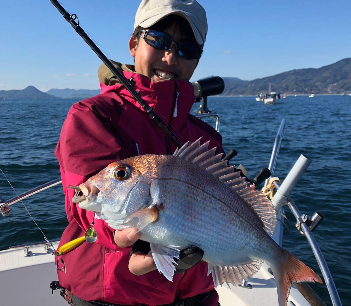 BRIST VENDAVAL8.9Mで正月に相応しい魚を求めて初釣りへ!