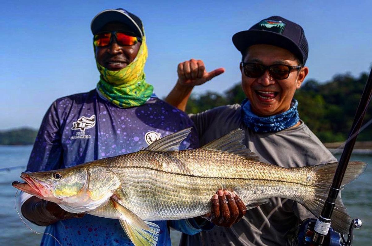 (前編)中南米人気釣り物、ルースターフィッシュ、クベラスナッパー、ターポン、スヌーク、in コロンビア