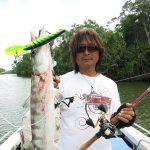 船から落ちそうな衝撃のバイト、引きを体験する PNG釣旅②
