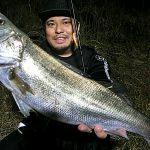 何かがおかしい福島の河川。魚の気配が薄い中、シーバスキャッチ!