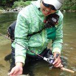 自然に囲まれ渓流をひた歩き美しい魚を追い求める!Beamsblancsierra5.2ULを片手に癒される釣りへ!