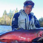 42歳のバースデーフィッシングは最高の鮭鱒達と共に