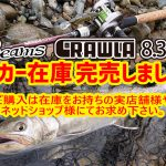 Beams CRAWLA83L+のメーカー在庫が完売致しました。
