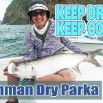 猛暑でも釣りに行きたい!Fishman防虫クイックドライパーカーが発売中!