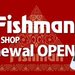 Fishmanオンラインショップリニューアルオープンいたしました!