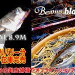 Beams blancsierra5.2UL、BRIST VENDAVAL8.9M(11月デリバリー分)のメーカー在庫が完売しました