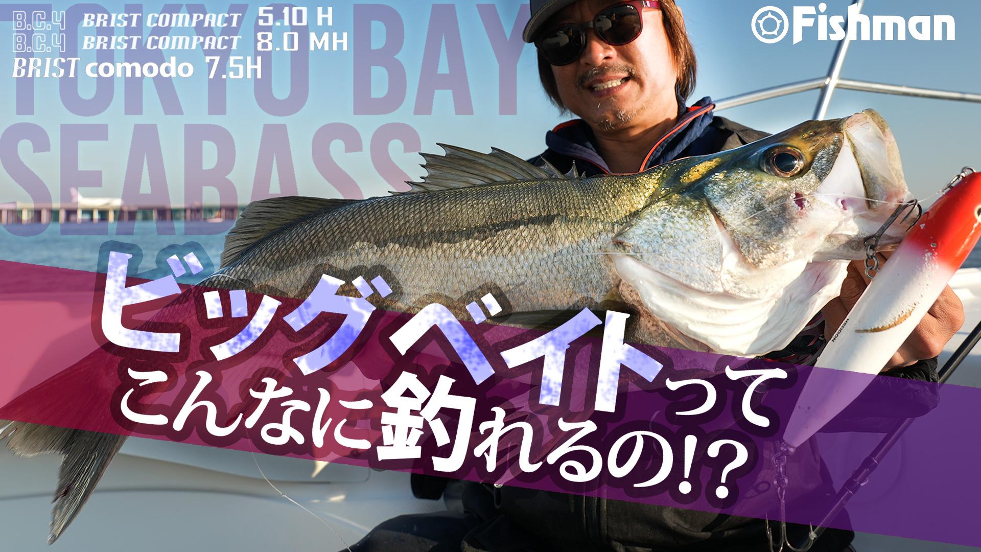 12月30日19:00「東京湾ビッグベイトシーバス!トップの釣りはこんなに釣れる!?」公開しました。