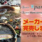 Beams Xpan 4.3LTS、Beams blancsierra 3.9UL LIMITEDのメーカー在庫が完売しました