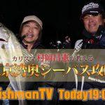 今晩19:00FishmanTV公開!東京湾奥バチ抜けシーバス攻略メソッド!