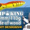「Fishmanオリジナルカラー パンプキン190(木製)」の動画が公開されました